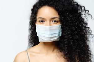 Coronavirus COVID-19 Mask Woman