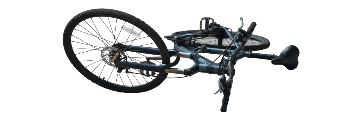 Bicycle Laying Down