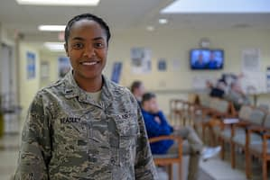 african american military woman